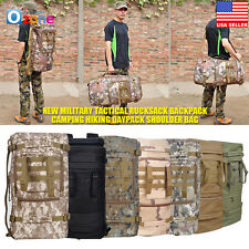 New Military Tactical Rucksack Backpack Camping Hiking Daypack Shoulder Bag