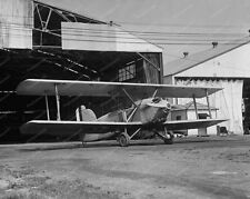 Old Biplane Vintage Airplane 8x10 Reprint Of Old Photo