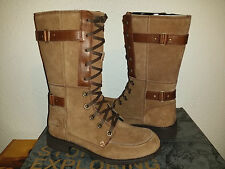 $175 NEW Womens The North Face Bridgeton Lace Boot Waterproof Brown 9