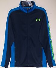 Men's Under Armour UA BASKETBALL WARM-UP JACKET Blue/Jet Blue Pick Size NWT