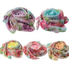 Women Lady Pashmina Scarves Shawl Wrap Bikini Long Soft Chiffon Scarf New J3B8
