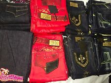 NEW LOT OF 20 PAIRS OF  JEANS WHOLESALE RESALE HUGE POTENTIAL KIDS JRS GIRLS