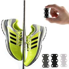 1 Pair Novelty Magnetic Casual Sneaker Shoe Buckles Closure No-Tie Shoelaces New