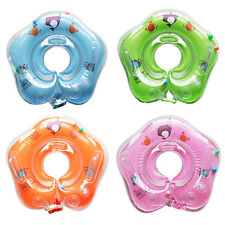 New Safety Baby Swimming Neck Adjustable Inflatable Ring Swimming Pool Circle