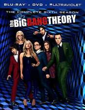 The Big Bang Theory: The Complete Sixth Season (DVD, 2013, 3-Disc Set) Blue Ray