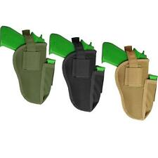 Every Day Carry Tactical Pistol Holster Right Left Waist Holster w Magazine Slot