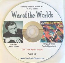 War Of The Worlds-Orson Welles-1 Audio CD-1938-Radio Theater-ONLY $5.99-FREE S&H
