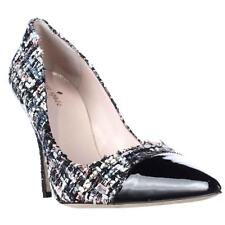 kate spade new york Lacy Pointed Toe Dress Pumps - Black Patent/Black