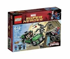 LEGO 76004 Marvel Super Heroes Spider-Man Spider-Cycle Chase New