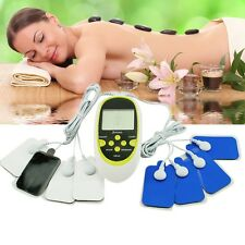 USA Sell Digital Therapy Machine Pulse Full Body Acupuncture Massager 8 Pads Hot