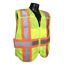 Radians SV24-2ZGM Class 2 Lime Green Breakaway Expandable Safety Vest *Free Ship