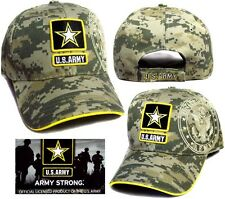US Army Strong Embroidered Licensed Baseball Military Caps ( 7507A5**)