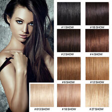 200S Pre-Bonded Keratin Glue Nail U Tip 100% Remy Straight Human Hair Extensions