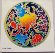 Sunseal Sticker Window Stained Glass Aussie Animals Collection