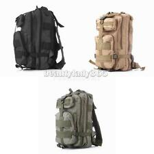 25L Waterproof Hiking Camping Bag Army Military Tactical Bag Rucksack Backpack