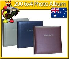 6x4 Photo Album holds up to 200 Photos