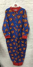 Boys Superman Character Onesie Nightwear Pyjamas 3-10 Years