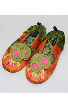 """NEW Goody Goody Bon Bon comfy Silk Slippers """"Sunkissed"""" Women's sz Small - Large"""