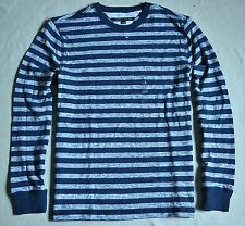 NWT MEN TOMMY HILFIGER STRIPED CLASSIC FIT STRIPED LONG SLEEVED SHIRT SZ LARGE