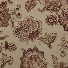 P/Kaufman Pink Floral Drapery Fabric