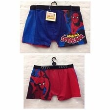 Mens Spiderman Boxer Shorts Trunks Underwear Sze S M L XL