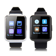 3G Android Smart Watch MTK6580 Quad Core GSM Bluetooth SIM Phone Camera WiFi GPS