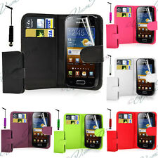 WALET CASE COVER LEATHERETTE FILM SAMSUNG GALAXY ACE S5830 S5839I