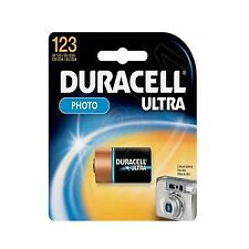 Duracell CR123 Ultra 3V Lithium Battery  CR123A 123 DL123 3V Photo Batteries