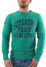 Superdry Pullover Men TRI LEAGUE CREW Hampton Green