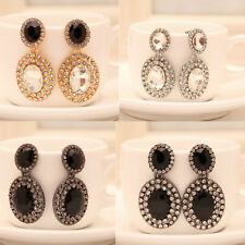 Chain HOT Rhinestone NEW Ear Stud 1 Pair Fashion Crystal Women Elegant Earrings