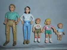 VTG LOVING FAMILY DREAM DOLL HOUSE PEOPLE FAMILY dad mom sister brother baby