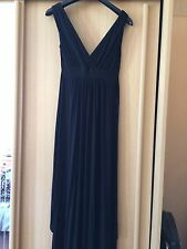 Maternity Black Maxi Dress Size 10