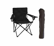 FOLDING CAMP CHAIR WITH CARRY BAG GREAT FOR FOOTBALL TAILGATING HOME CAMPING...