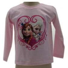 Long Sleevet- Shirt Hilt Frozen Anna Warm Cotton Disney Original T-shirt