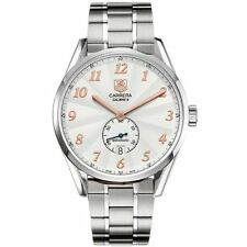 Tag Heuer WAS2112.BA0732 Mens White Dial Analog Automatic Watch