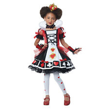 Girls Deluxe Queen of Hearts Halloween Costume