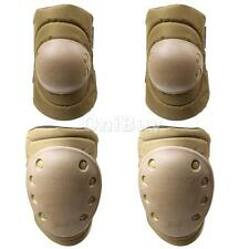 4 Pcs Knee Elbow Support Pad Sports Protective Gear Safety Pads Safeguard Set