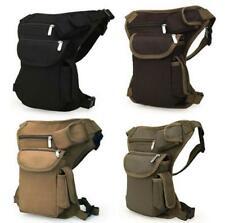 Canvas Tactical Motorcycle Riding Hip Fanny Pack Waist Thigh Drop Leg Bag Pouch