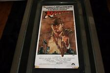 RAIDERS OF THE LOST ARK RARE 1981 AUSTRALIAN ORIG DAYBILL MOVIE POSTER GOOD COND
