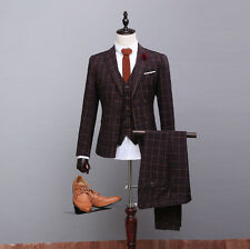 Custom Made Groom Men New Wedding Suits Best Tuxedos Formal Occasion Bridal Suit
