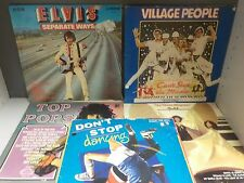 """Various Popular 12"""" Vinyl Records - 9 Records Collection! (ID:39100)"""