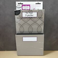 """NEW, Mead Organizher Hanging Magnetic Storage Pockets  6"""" x 10"""""""