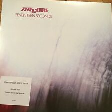 THE CURE SEVENTEEN SECONDS 2016 REISSUE 180G VINYL LP + MP3 CODE - NEW & SEALED