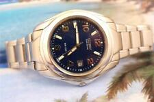 Classic Citizen Navy Dial STAINLESS STEEL Automatic MENS WATCH 40mm Date