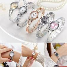 Stylish Women's Ladies Bracelet Watches Quartz Strass Wrist Watch Wristwatch
