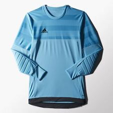 Adidas MENS Climacool Soccer Futbol Entry Goalkeeper Jersey 15 Blue Shirt M L XL