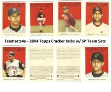 2004 Topps Cracker Jack w/ SP Baseball Team Sets ** Pick your Team **