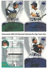 2004 UD Diamond Collection Pro Sigs (1-90) Baseball Sets ** Pick Your Team **