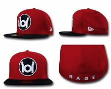 New Era 59fifty 5950 Red Lantern Logo Fitted Cap NWT Limited Edition DC Comics