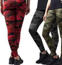 Urban Classics Ladies' Leggings Camo Camouflage Trousers TB1331 Pattern